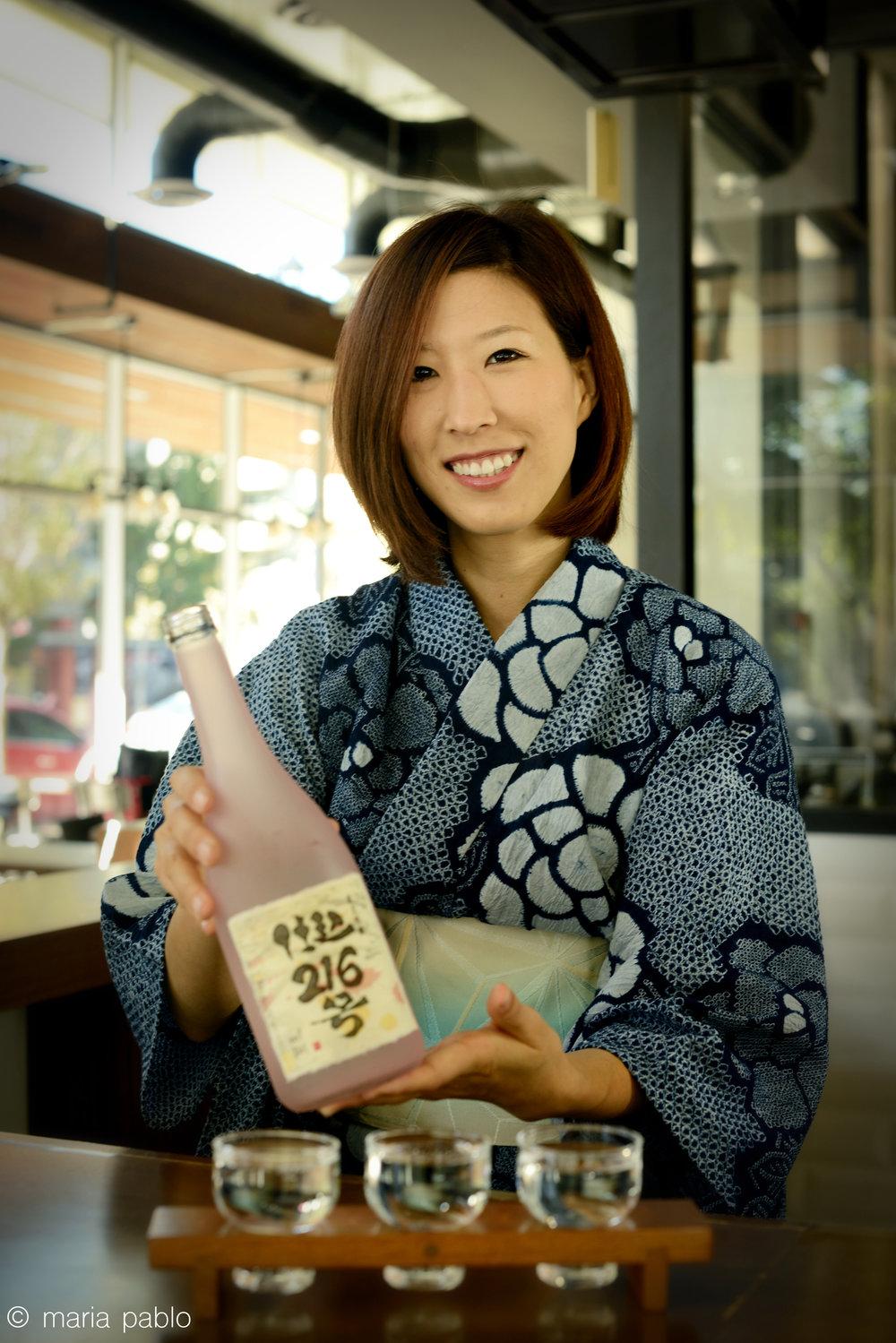 Ayaka, Sake Master