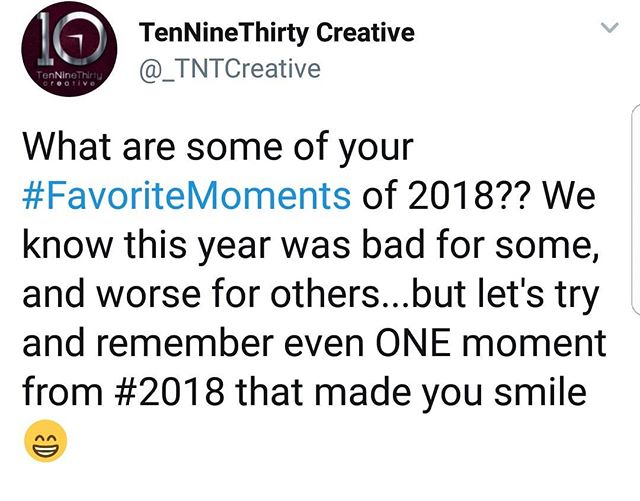 We've added some of our favorite moments! Swipe to check them out!  SHARE some of yours via comment 😁😁 Thank you to those who have been part of our journey ❤❤ Can't wait to see what #2019 holds!  #newyearseve #happynewyear #newyears2019 #MotivationMonday