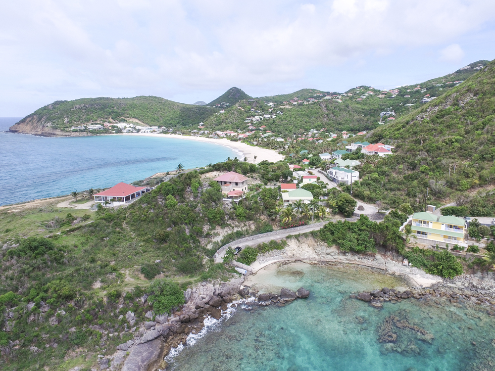 Aerial view of Petite Anse taken with my drone.