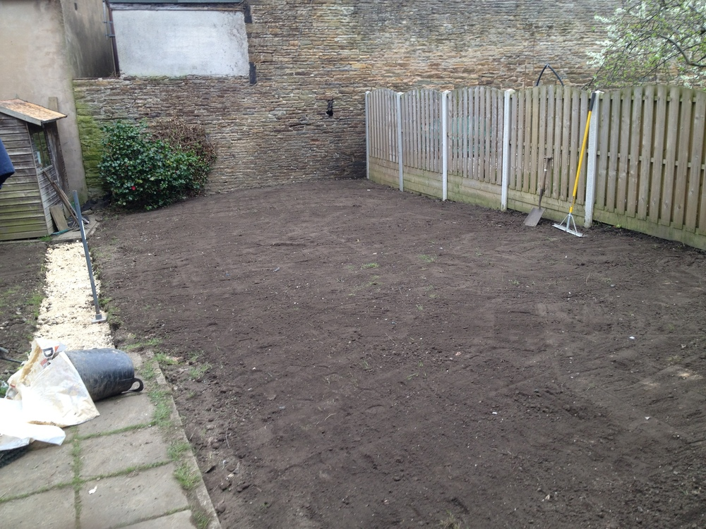 Preparation For Turfing