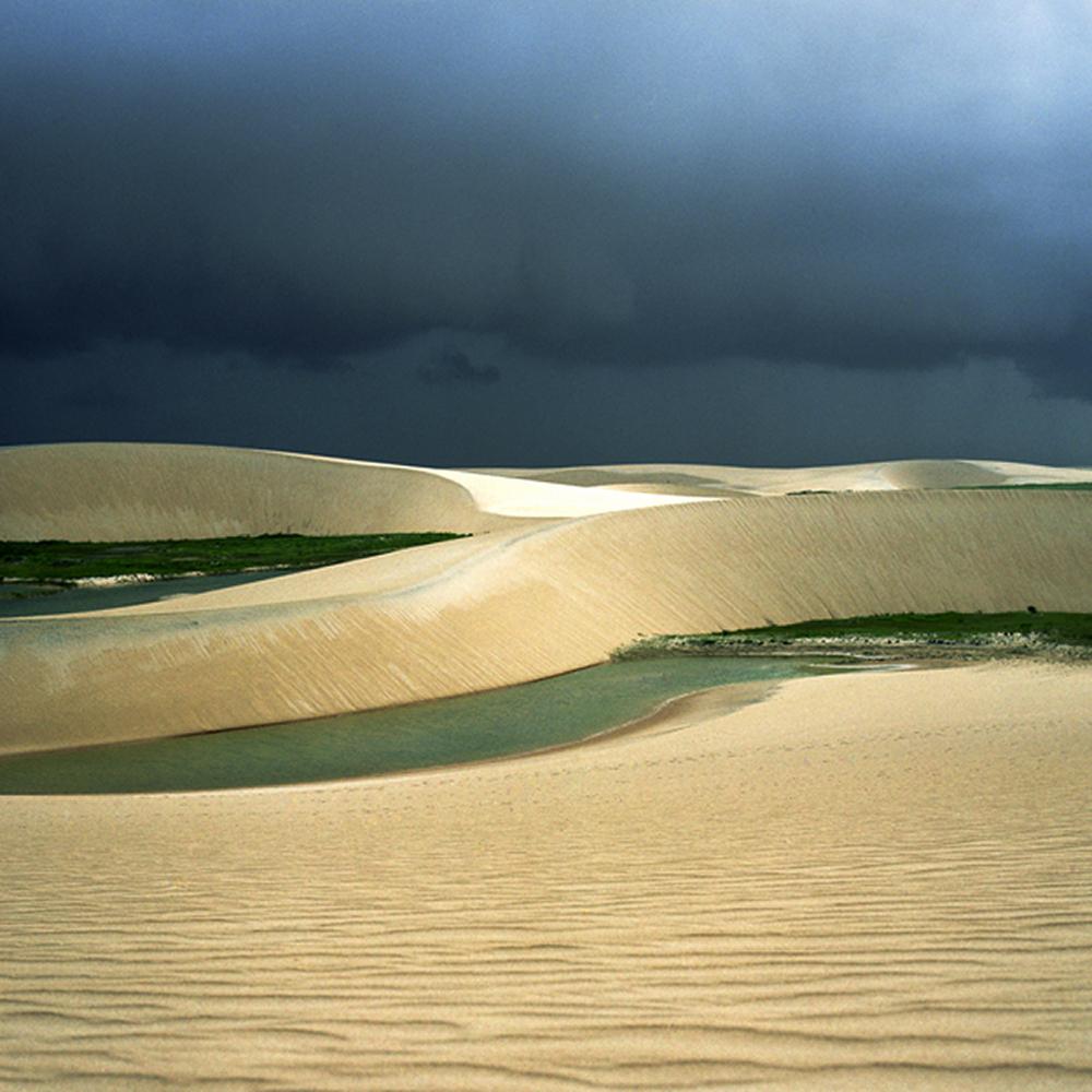 "Lost Dune I, 30"" x 30"", 2007"