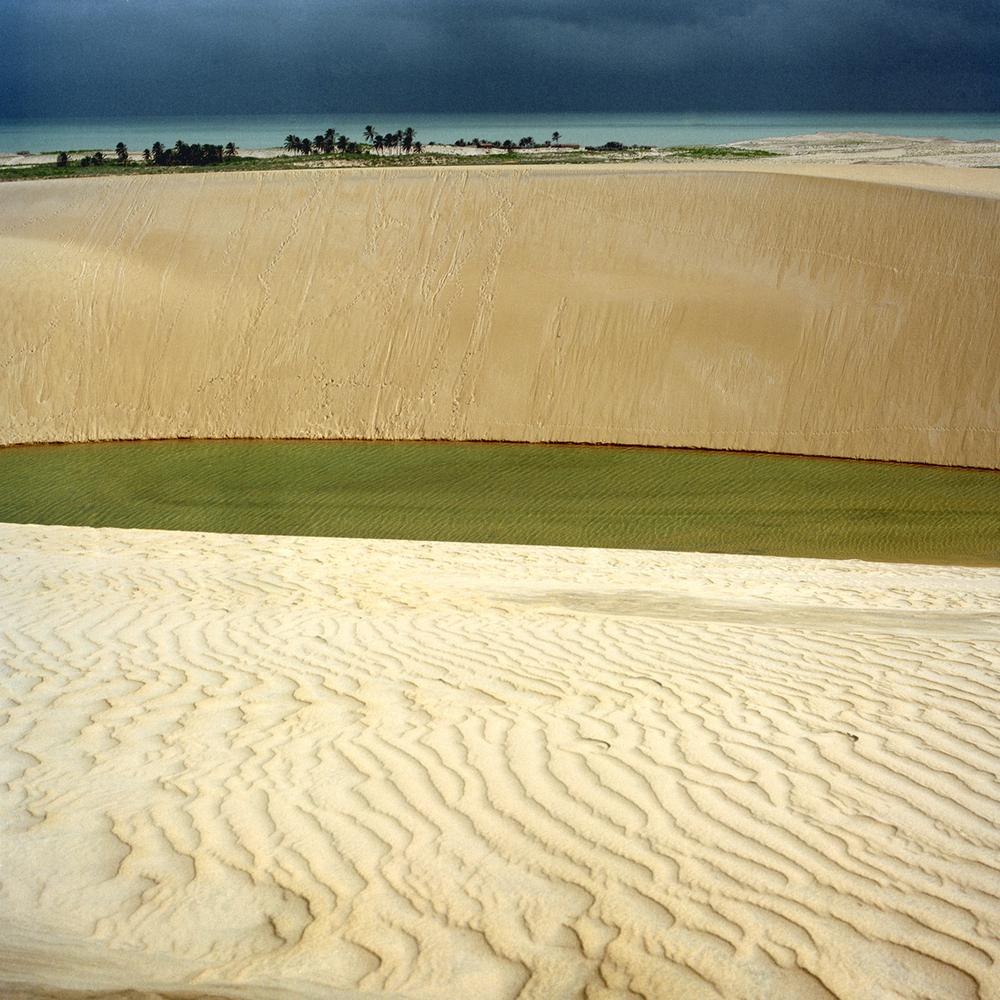 "High Dune, 30"" x 30"", 2007"