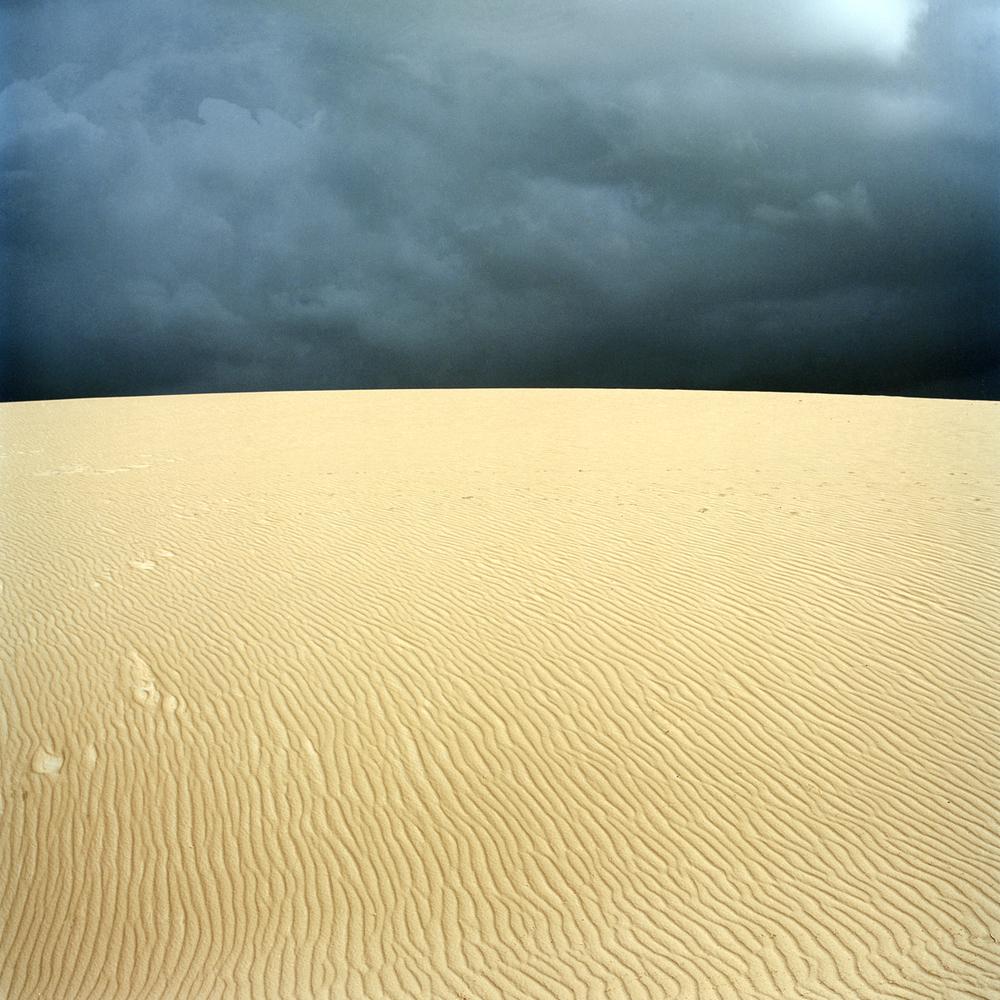 """Coming Rain I, 30"""" x 30"""", 2007"""