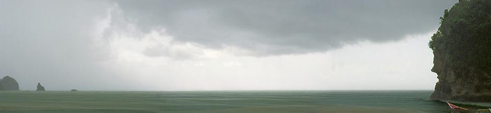 """Congua Panorama I, Venezuela  30"""" x 130"""", 2009"""