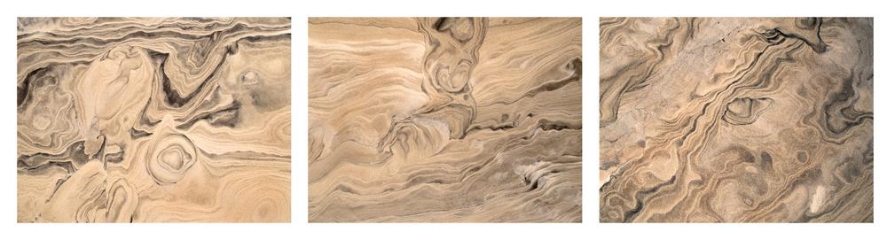 "Wind II, Ceara Brazil  3 images, 15"" x 20"", 2015"