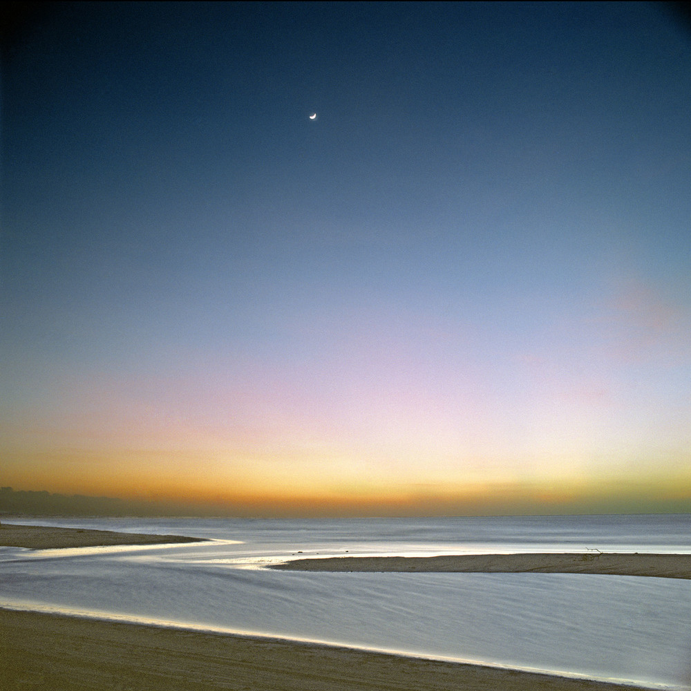 "Early Moon,  30"" x 30"", 2006"