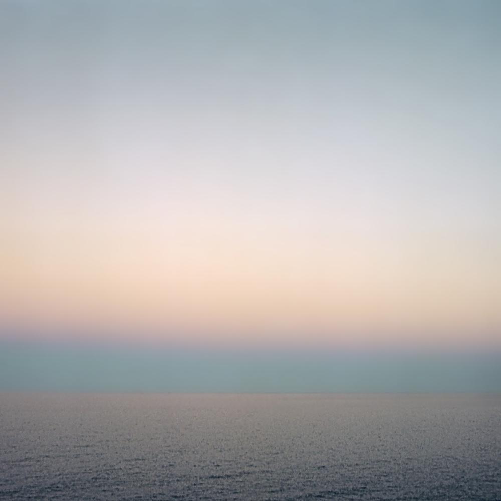 """Baja Dusk I,  30"""" x 30"""", 2007"""