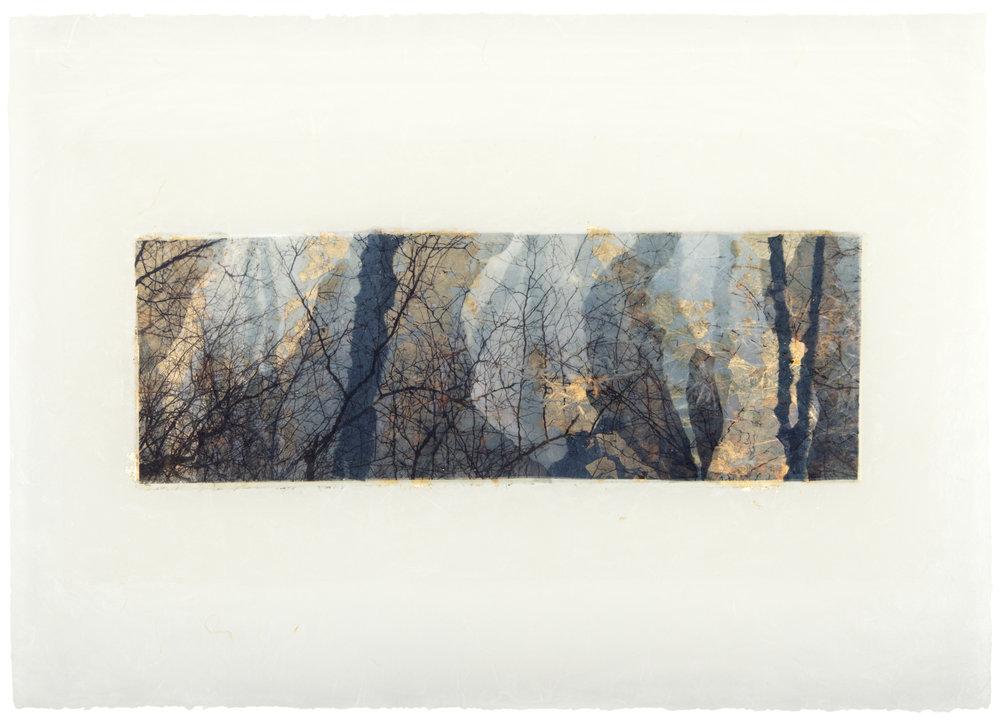 """Deep Blue, 13"""" x 28"""", 2014"""