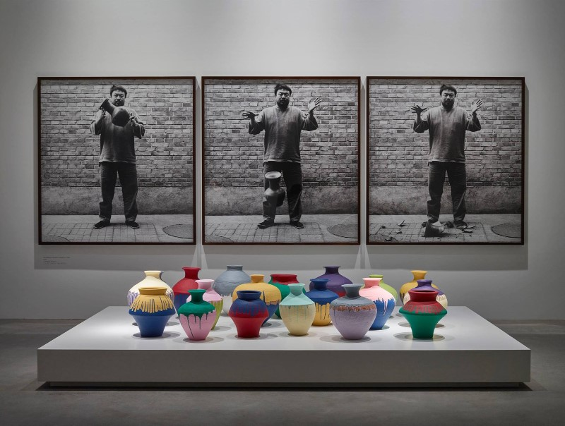 Ai Wei Wei at Farshou Foundtion Copenhagen April 2015.jpg