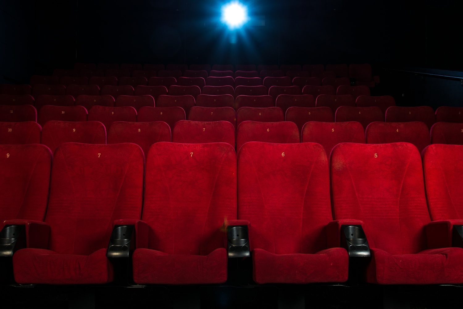 Image result for empty movie theater