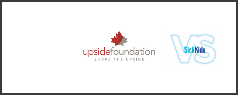 WE SHARE THE UPSIDE - As part of FGS's commitment to give back, we are a proud member of The Upside Foundation of Canada.  The Upside Foundation provides a platform to donate equity so that we can share our upside with our community.  We have pledged 50% of our donation to Tech for Sick Kids.