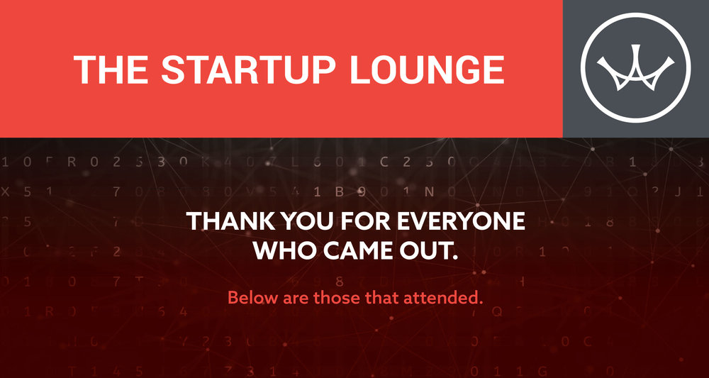 Start Up Lounge - Thank You