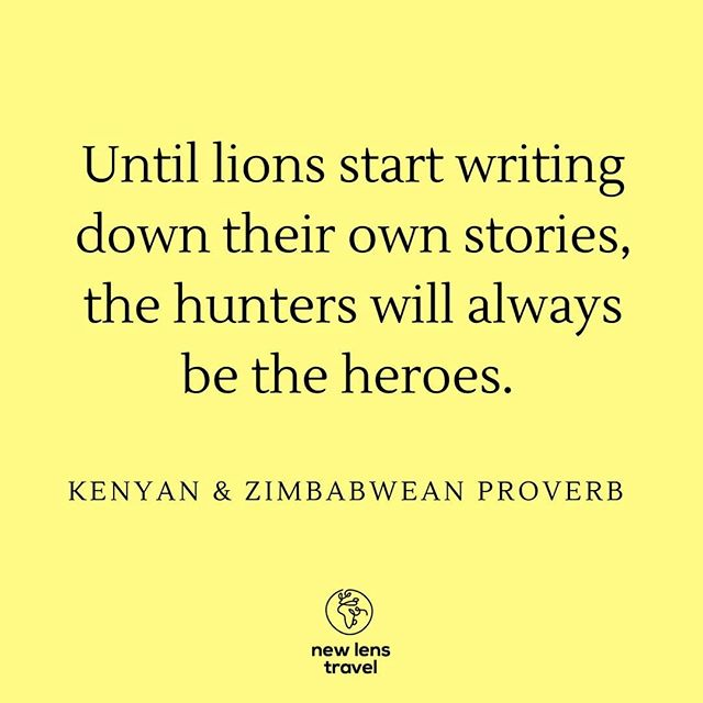 Think about it. Whoever is telling the story has the power. For too long, the stories dominating the headlines about Africa haven't been a true reflection of the complex diversity of this continent. We're on a mission to change that. . . . . #Africa #AfricaInspires #proverbs #socialimpact #socialenterprise #sociallyconscious #sociallyresponsible #Kenya #Zimbabwe #exploreafrica #travelresponsibly #responsibletravel #wandering #storytelling #empowerment #storiesuntold #socialenterprise