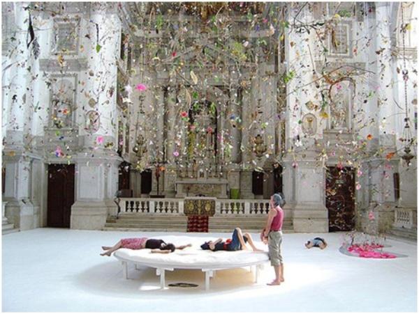 Falling garden - 50° Biennale of Venice . credits: Gerda Steiner and Jorg Lenzlinger