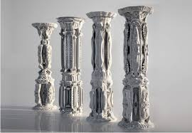 3D printed COLumns GENERATEd w/ algorithms