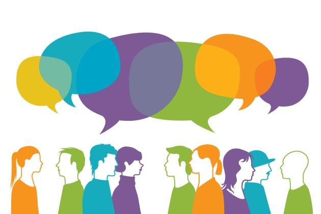 Effetto Cocktail Party : selezioniamo solo una voce tra tre. Immagine da www.Nature.com