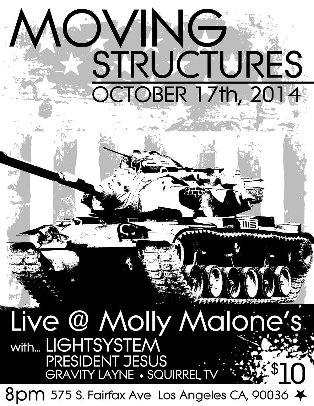 MOLLY MALONE'S 10.17.14