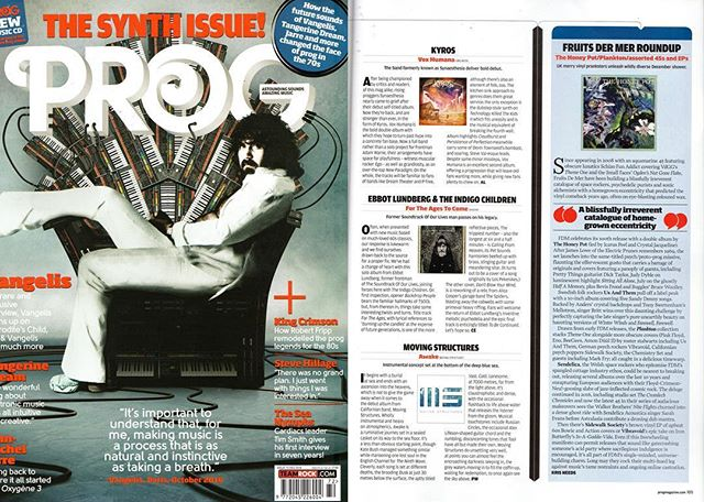 Thank you @progmagazine for featuring us and a review in your December issue! So excited to be a part of it! #progmagazineuk #progmagazine #instrumental #postrock #press  prog.teamrock.com