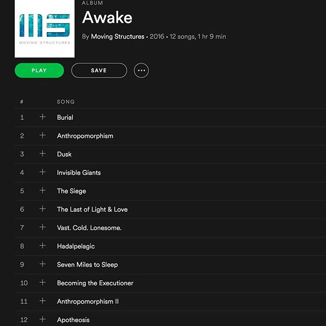 Use @spotify? Please stop by and give us a follow or add us to a playlist! http://ow.ly/n7eP309bEXI #NowPlaying Awake by @movingstructures #postrock #rock #metal #spotify #instrumental #playlist