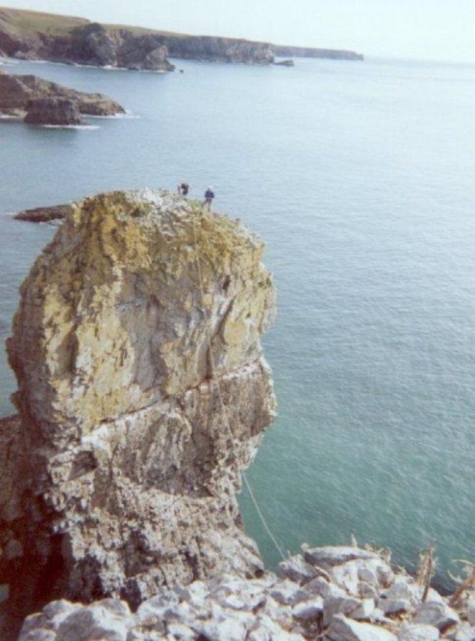 Elegug Stacks, Wales