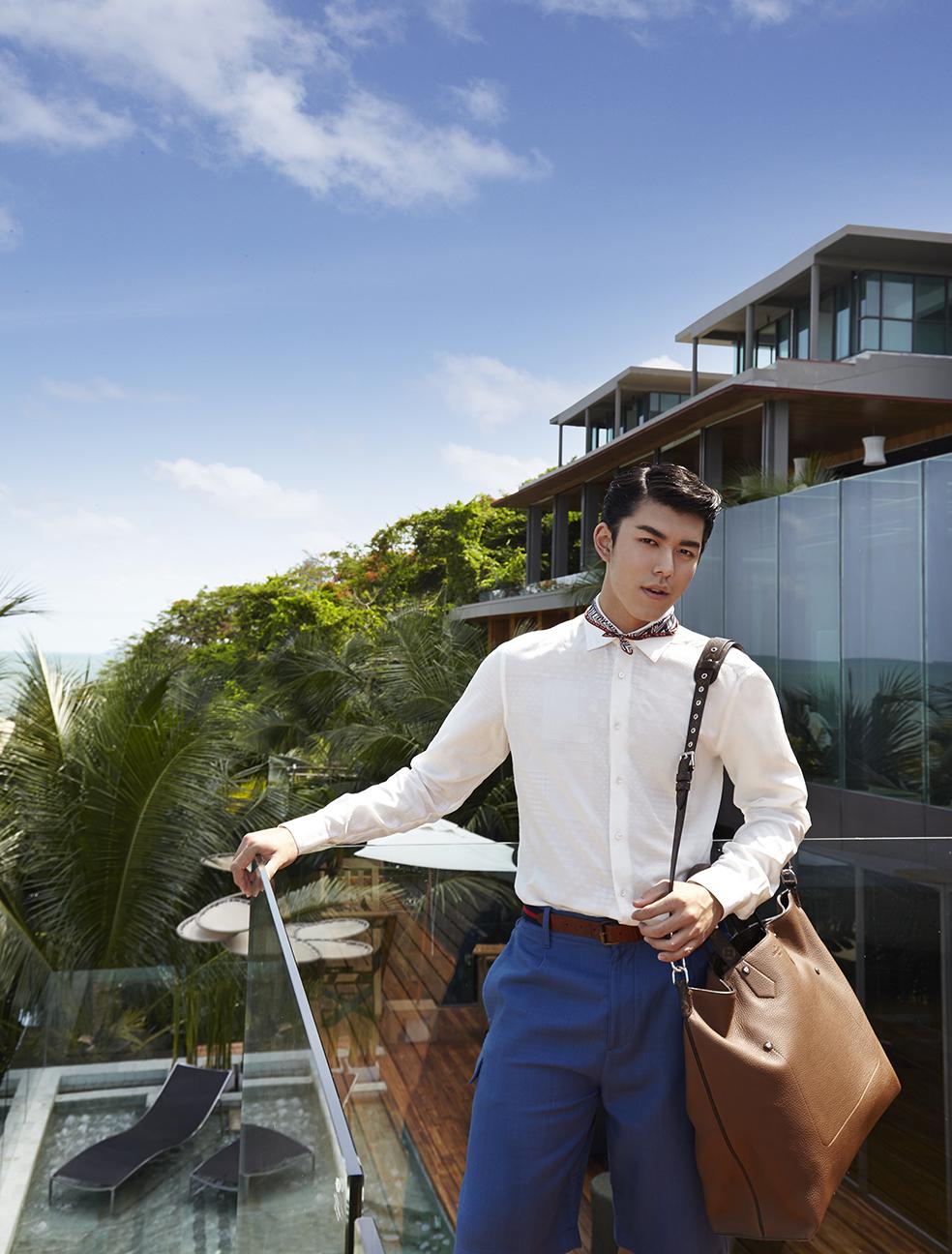 Clothes and Bag : Louis Vuitton