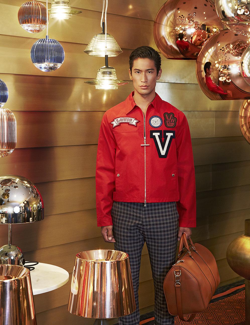 Model :Takuya Nakamura @model_taku Clothes and Bag : Louis Vuitton  Lightings : Tom Dixon at MOTIF 3rd Fl. Erawan Bangkok Tel 0-2250-7740