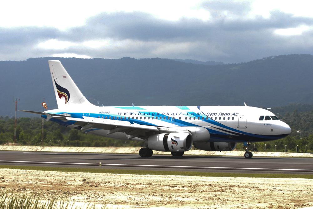 138 - seater Airbus A319 aircraft / Bangkok Airways
