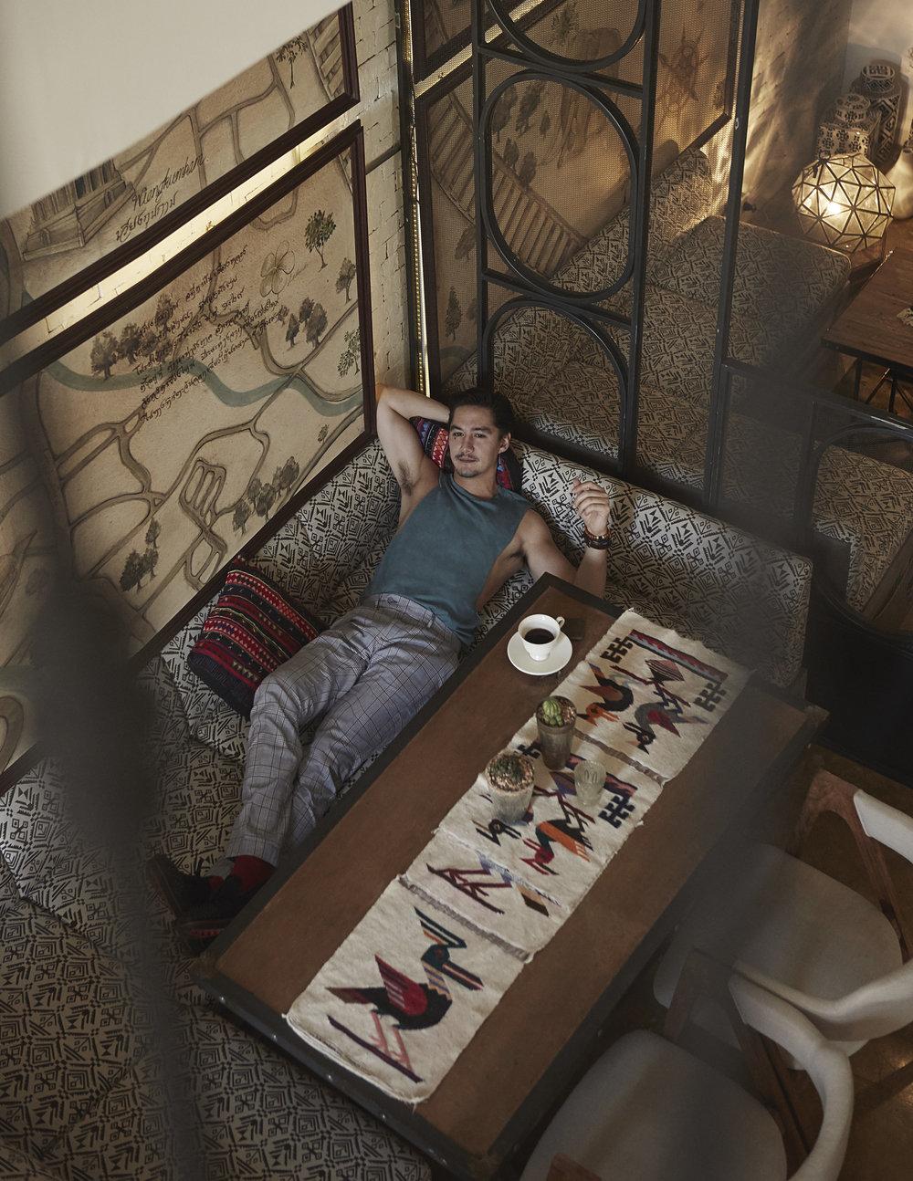 pants : Hackett London / shoes : christian Louboutin