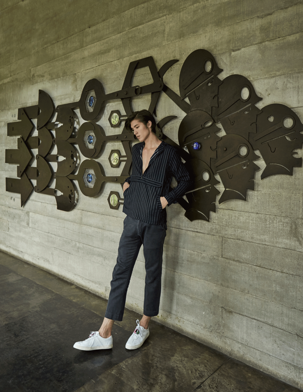 clothes and shoes : The Leisure Projects