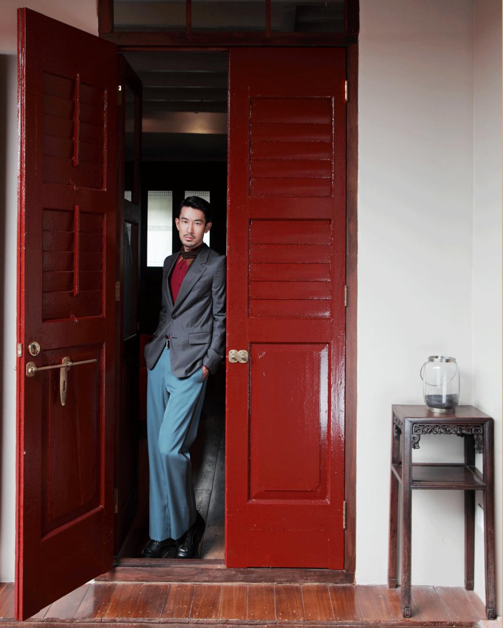 clothes : PRADA /location : Seven Terraces Hotel