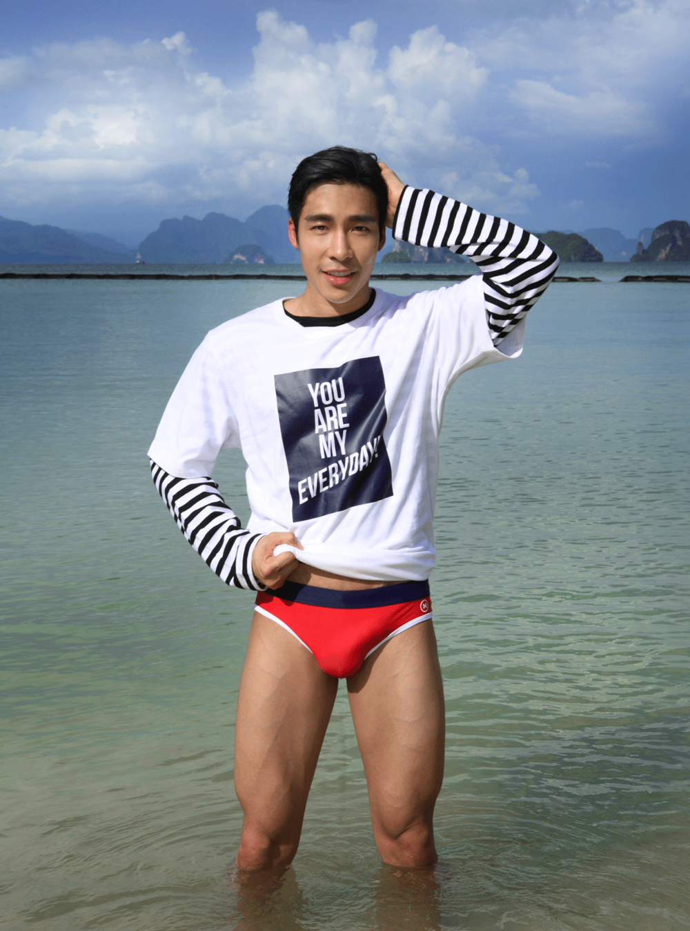 t-shirts : Everyday Km Km / swimwear : NOXX