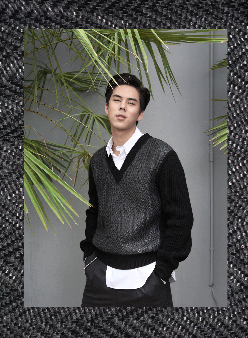 Mentor Peach Pachara / clothes : Louyis Vuitton
