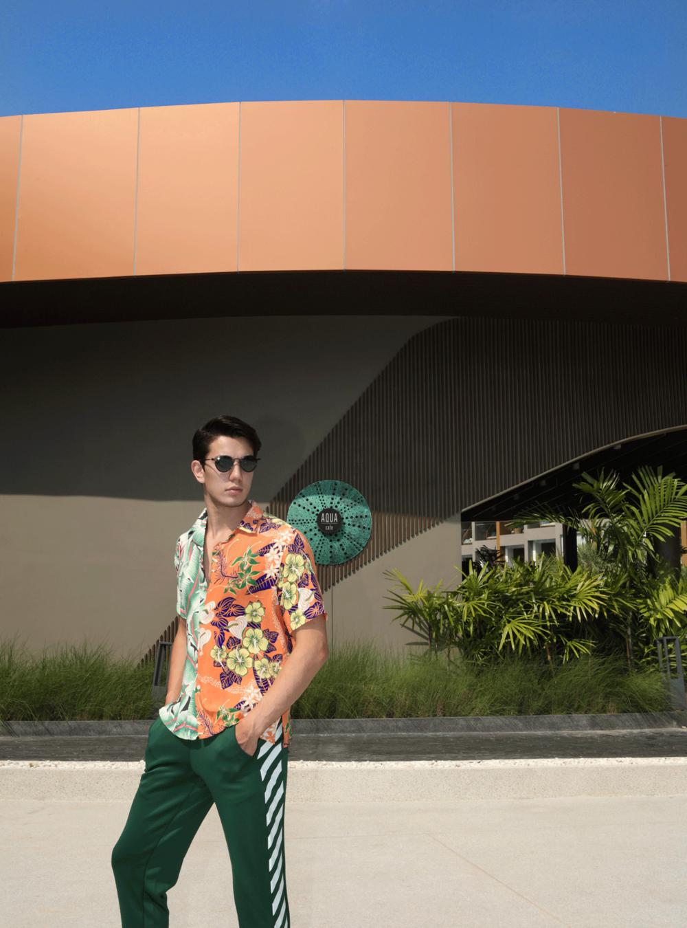 shirt : Leisure Projects / pants : CV_homme / sunglasses : TAVAT