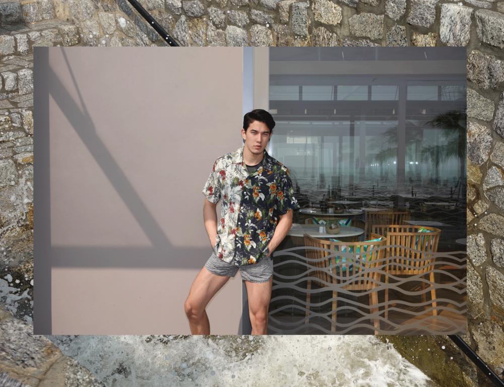 shirt : Leisure Projects / tank top : NOXX / sunglasses : TAVAT