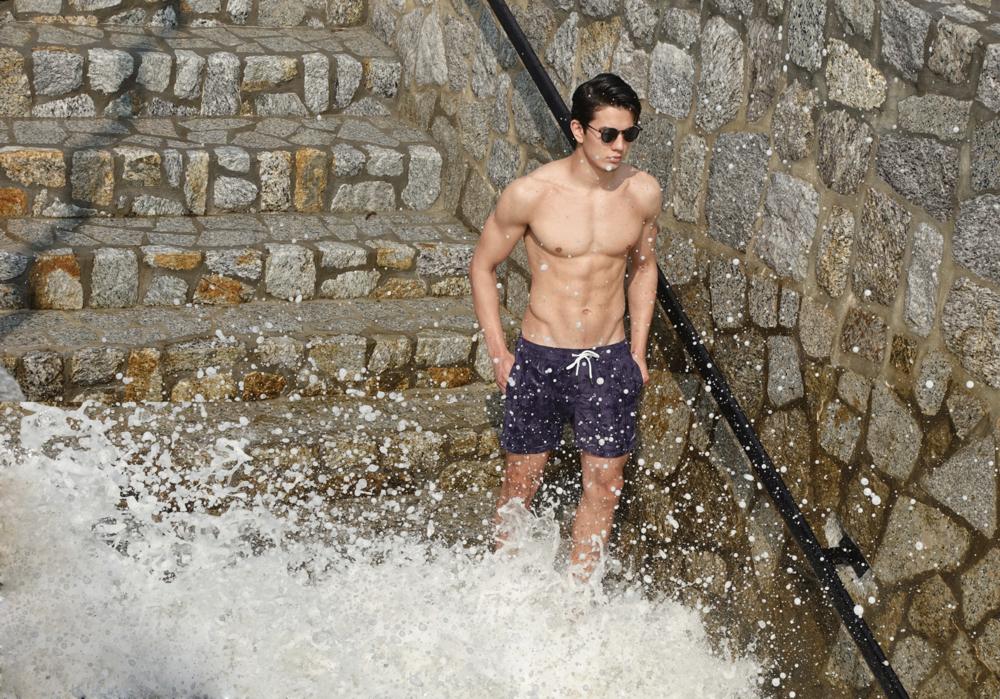 shorts : Leisure Projects / sunglasses : TAVAT