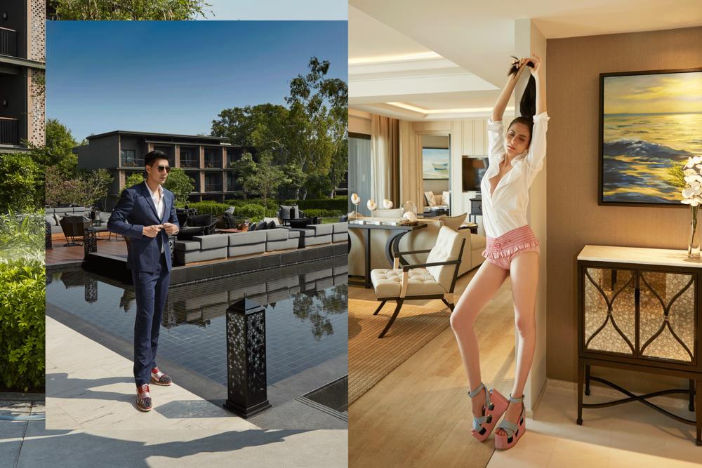 Hua Hin Marriott Resort & Spa  Photo: Republic Studio  Models : Nachad-Kaviyanat Herrmann @nachad_k   Mungkorn-Paphawin Hongkajorn @_mungkorn_  Make up : Chirapas Aphinantan @makeupmasterclass  Hair : Keattisak Sukwimut @kim_keattisak  Nachad's Clothes and shoes : MIU MIU  Mungkorn's clothes : Calvin Klein Platinum @Club21thailand  Shoes : Christian Louboutin, G floor Central Embassy  eyeglasses : Tavat #tavateyewea  Hua Hin Marriott Resort & Spa  107/1 Phetkasem Road, Hua Hin, Prachuap Khiri Khan 77110 Thailand  Tel +66-32-904 666   www.huahinmarriott.com