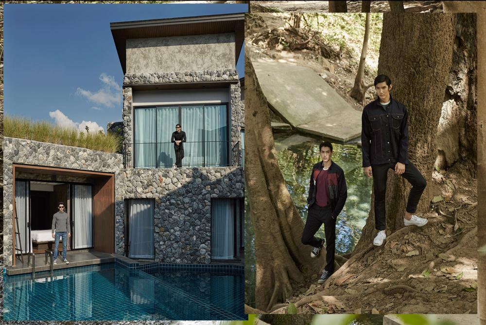 Caverna Khaoyai  Photo: Republicstudio_th  Models : Pop Pitcherpat @popxpop / Man Jedsadawut @man.jedsadawut @redmodeling  Clothes : Leisure Projects @leisureprojects / NOXX @ noxxwear  Location : Caverna Khaoyai  Nong Nam Daeng, PaK Chong District, Nakorn Ratchasima  Tel + 66 86 245 6699