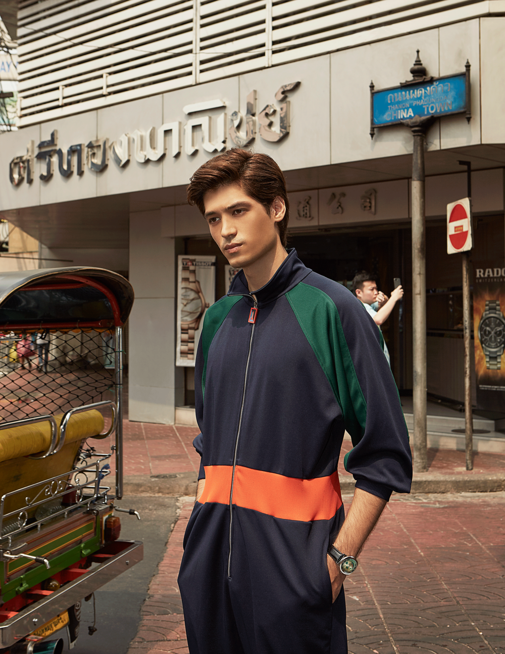 clothes : Everyday Karmakamet / watch :BULOVA Accutron II Alpha: 96A155