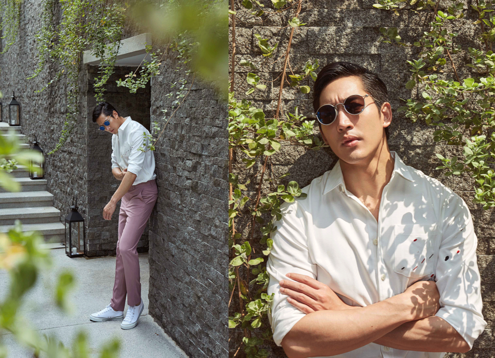 clothes : CV_Homme / sunglasses : TAVAT