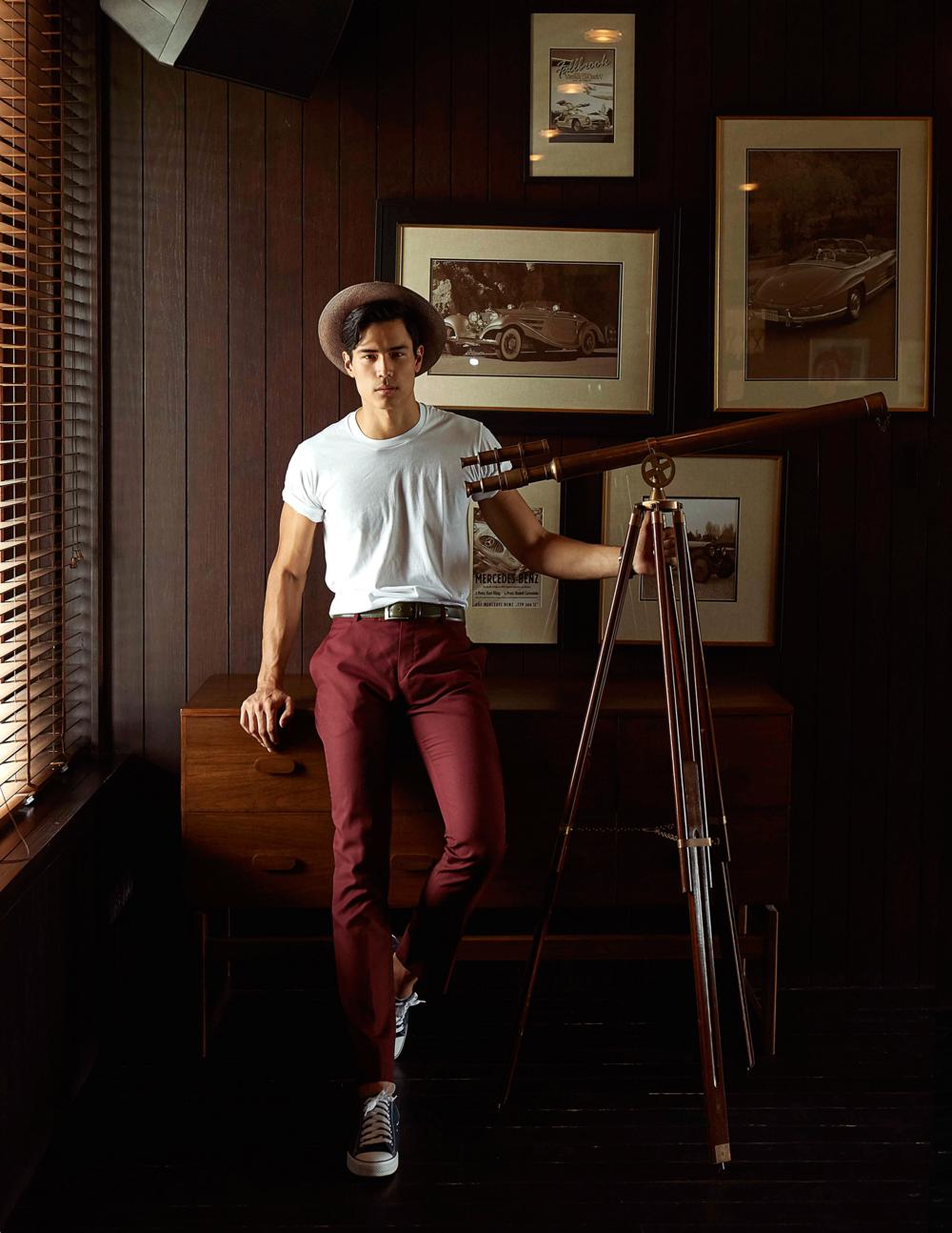 tshirt : JOCKEY / pants : CV_Homme / hat : Famosa_Andina