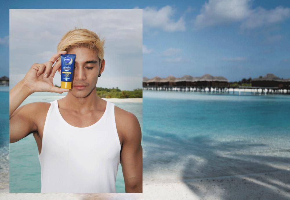 #ปกป้องเต็มที่ #Niveasun  NIVEA Sun Protect & Moisture Face Sunscreen SPF50 PA++ / โลชั่นสำหรับผิวหน้า ป้องกันแสงแดด พร้อมให้ความชุ่มชื่นอิ่มน้ำกับผิวได้มากถึง 3 เท่า ช่วยปกป้องผิวจากรังสี UVA UVB ฟื้นบำรุงผิวจากแสงแดดด้วยวิตามิน อี และ มอยซ์เจอไรซิ่ง พาวเวอร์ถึง 10 ชนิด มั่นใจว่าผิวหน้าไม่ไหม้หลังออกแดด