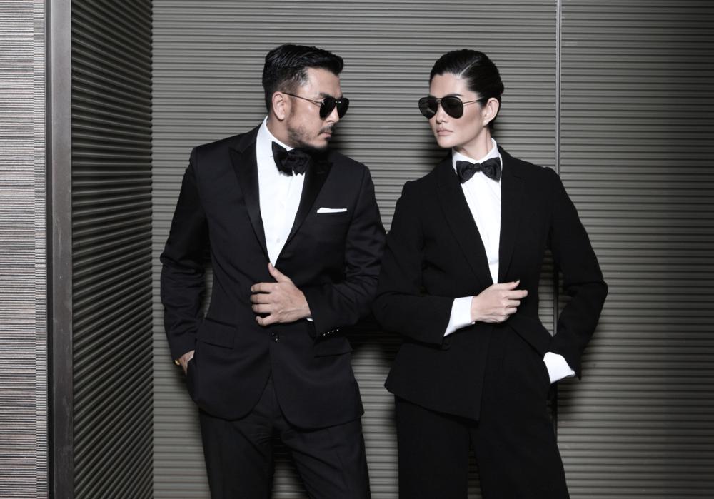 clothes : ASAVA / sunglasses : Alexander McQueen