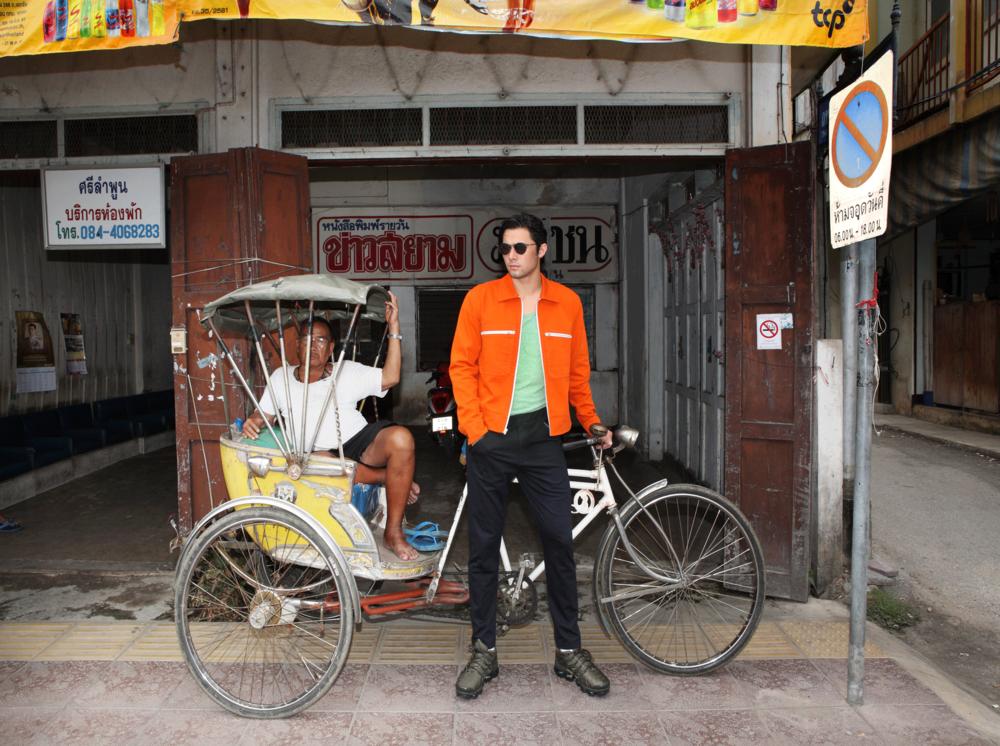 jacket : CK Calvin Klein / sunglasses : TAVAT / watch : FORREST