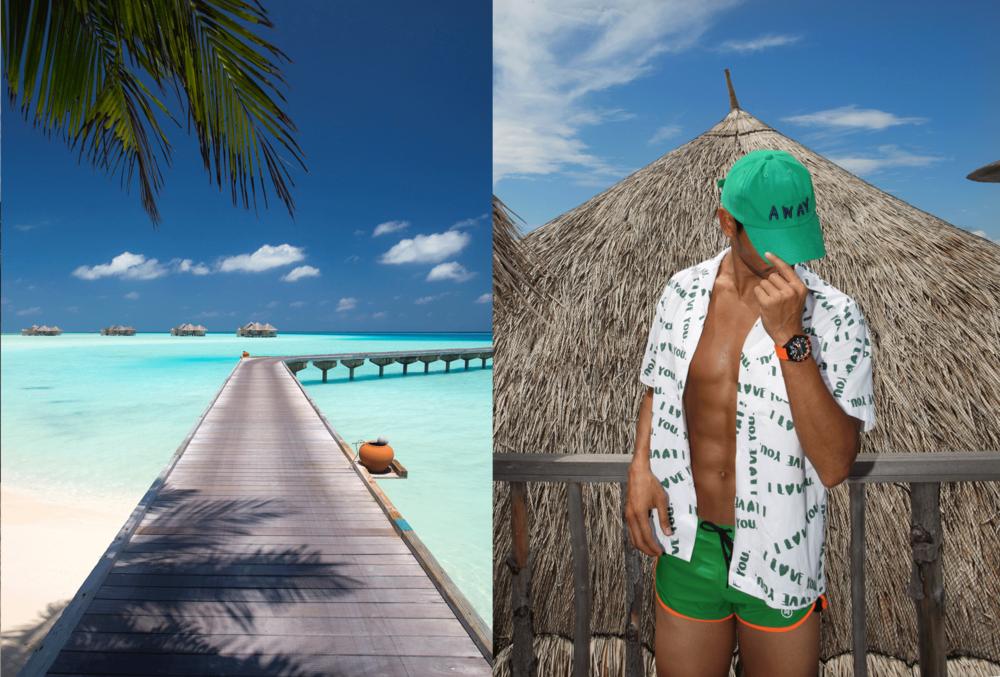 shirt : Everyday Karmakamet / shorts : NOXX  cap : TIMO  watch : ALPINA ALPINERX