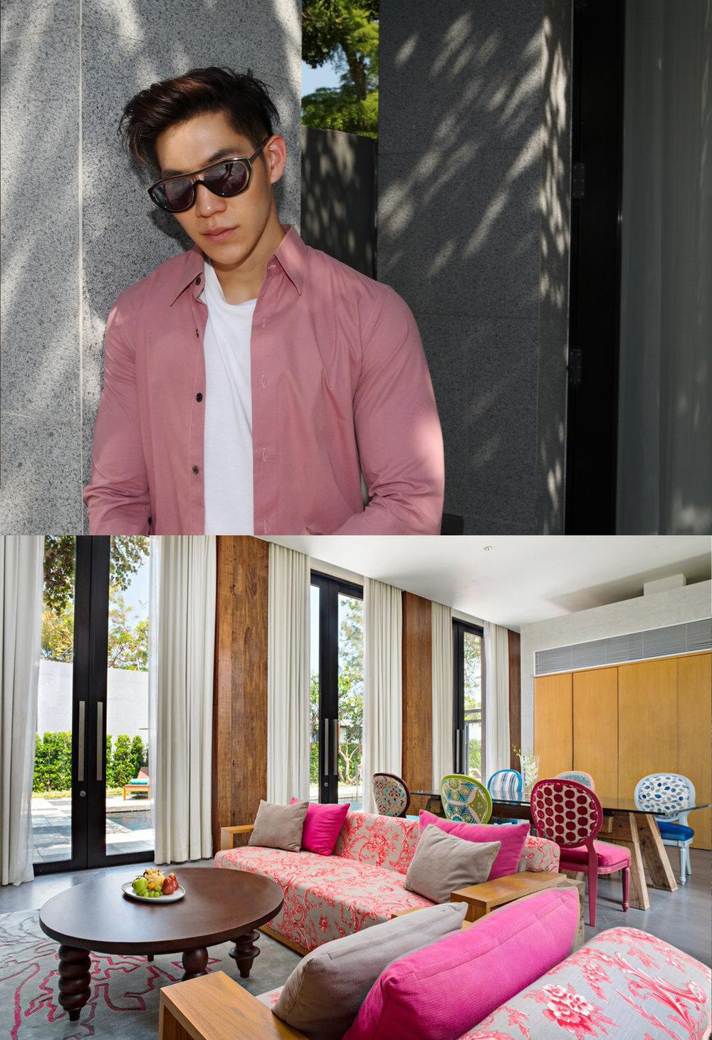 POPPY : shirt : P.MITH  sunglasses : Blake Kuwahara