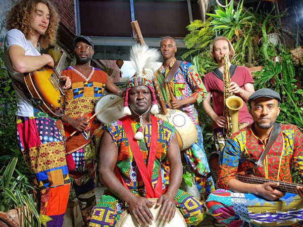 Featuring an internationally renowned line up that traverses The Gambia, Senegal, Ethiopia, Ghana and Australia, the Senegambian Jazz Band channels over eight thousand years of African musical traditions, transporting the power and beauty of these ancient sounds, rhythms and melodies to euphoric audiences across Australia.