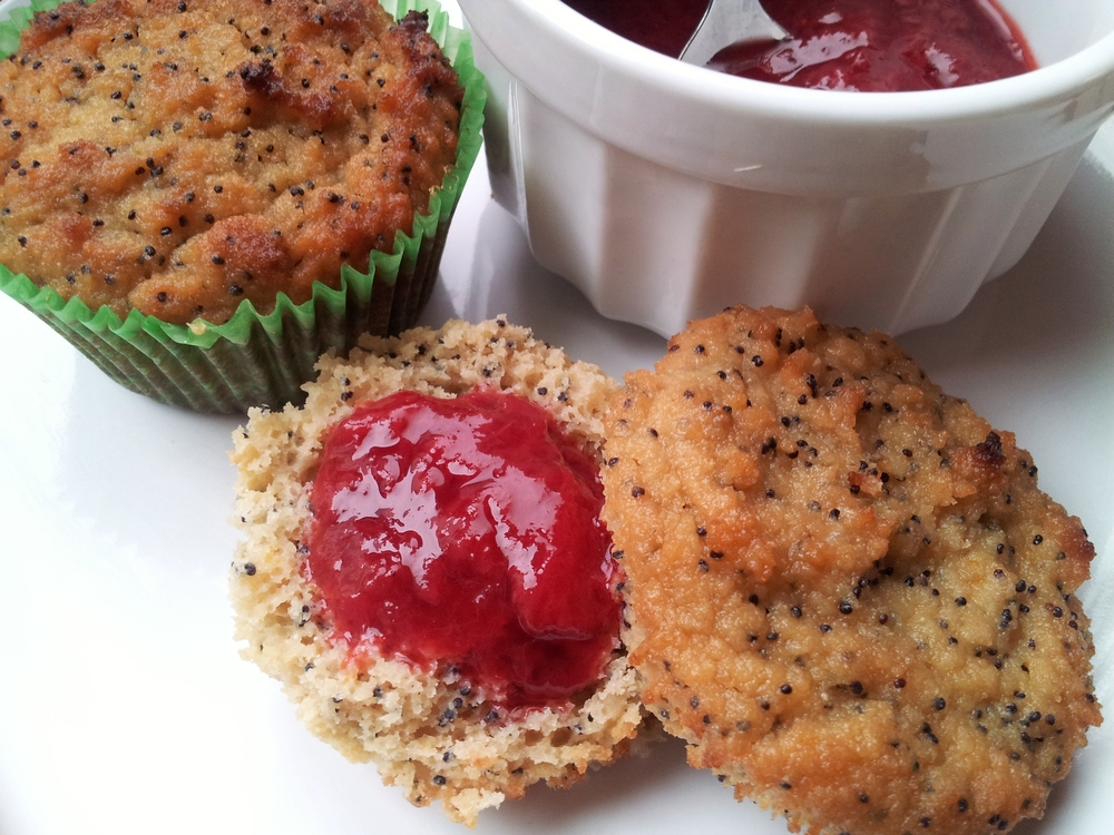 lemon poppyseed muffins | seekthewelfare
