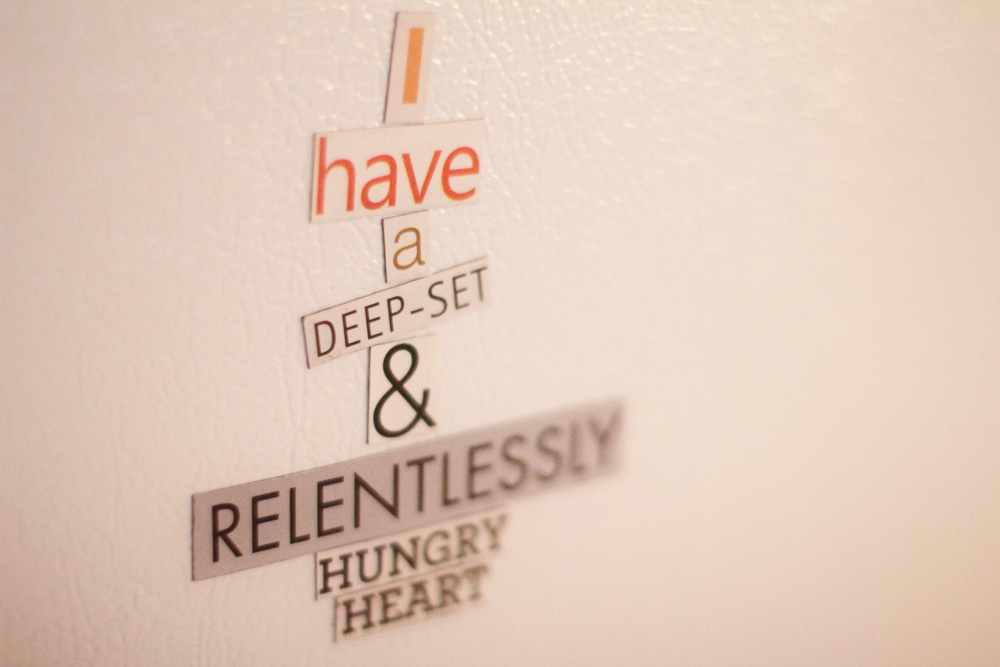 on the fridge | seekthewelfare