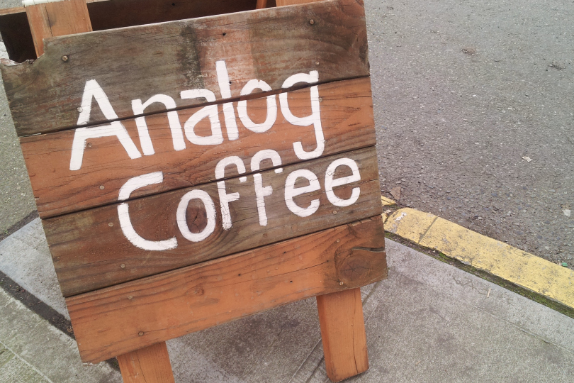 analog coffee | seekthewelfare