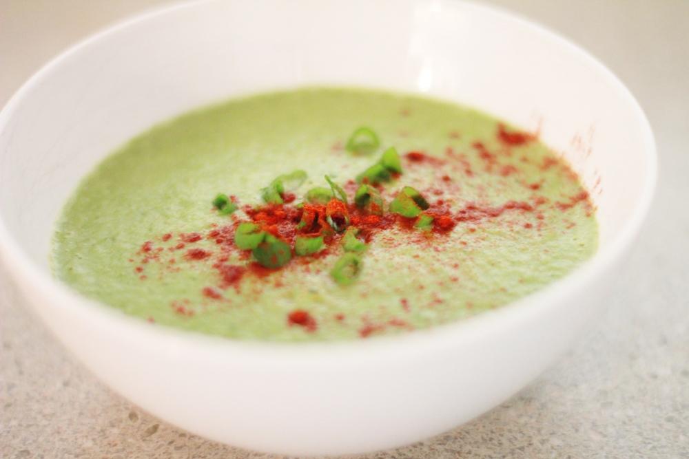 leek and asparagus soup | seekthewelfare